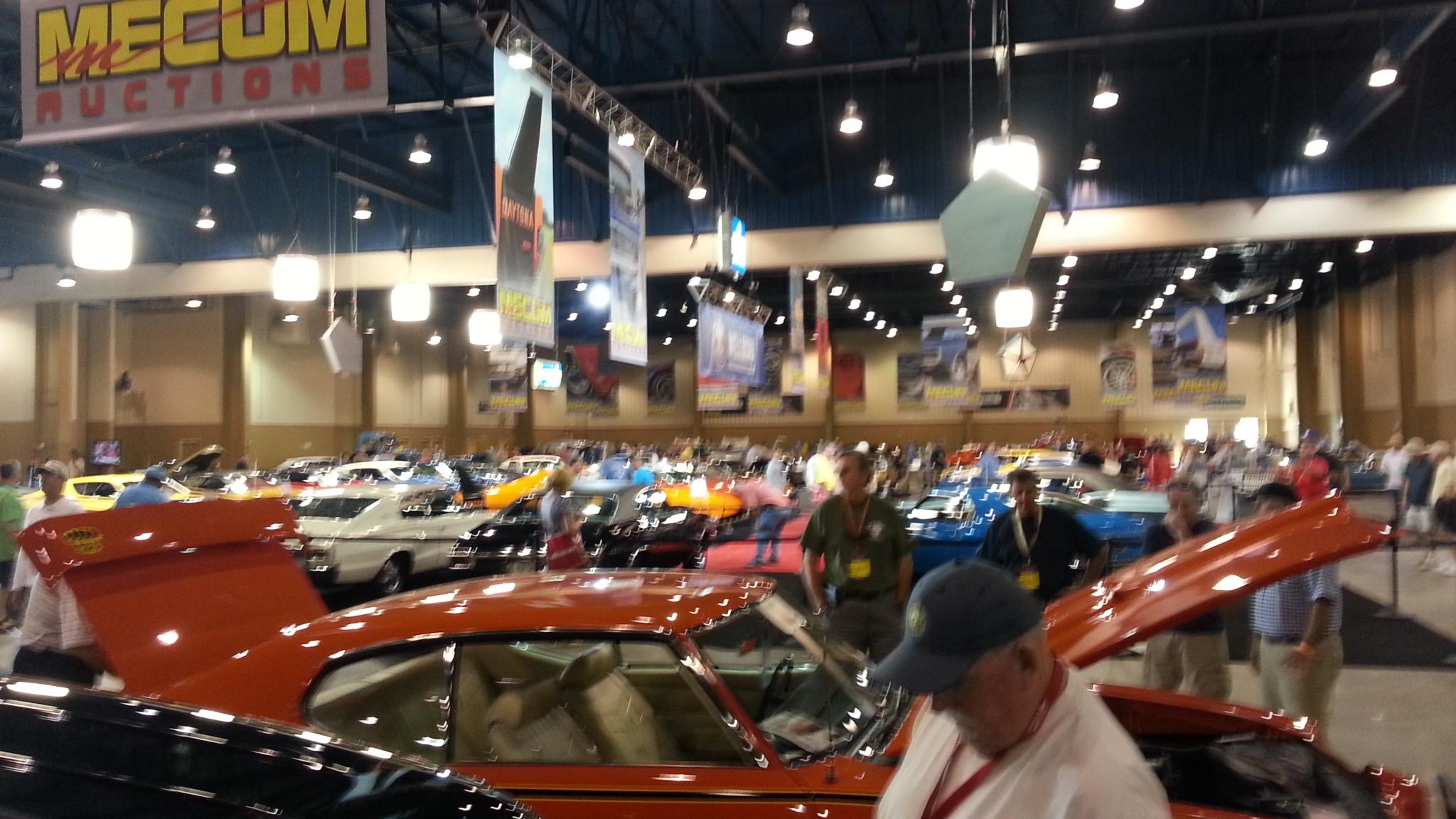 Mecum Auction Kissimmee TVVCarClub - Kissimmee car show
