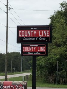 DRIVE AND DINE - COUNTY LINE SMOKEHOUSE